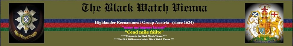 Banner der Black Watch Vienna