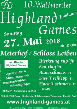 Waldviertler Highlandgames in Leiben